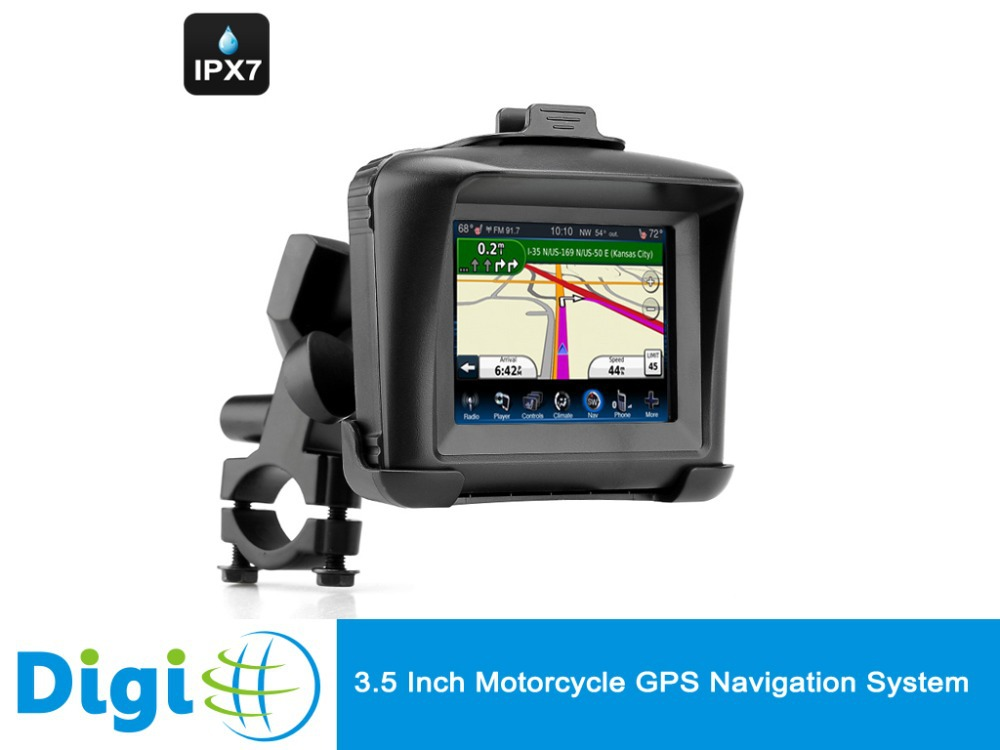 Original Motorcycle GPS Navigation System 3.5 Inch Display 4GB Internal Memory Waterproof Bluetooth Win CE 6.0(China (Mainland))