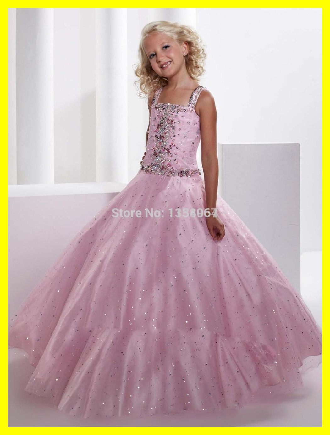 Pink Marie Flower Girl Dresses