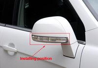 Free shipping new rear view mirror turn signal LED light side lamp for Chevrolet Captiva 2011 2012 2013 2014