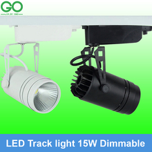 Dimmable 15W COB LED Track Light/ Spotlight