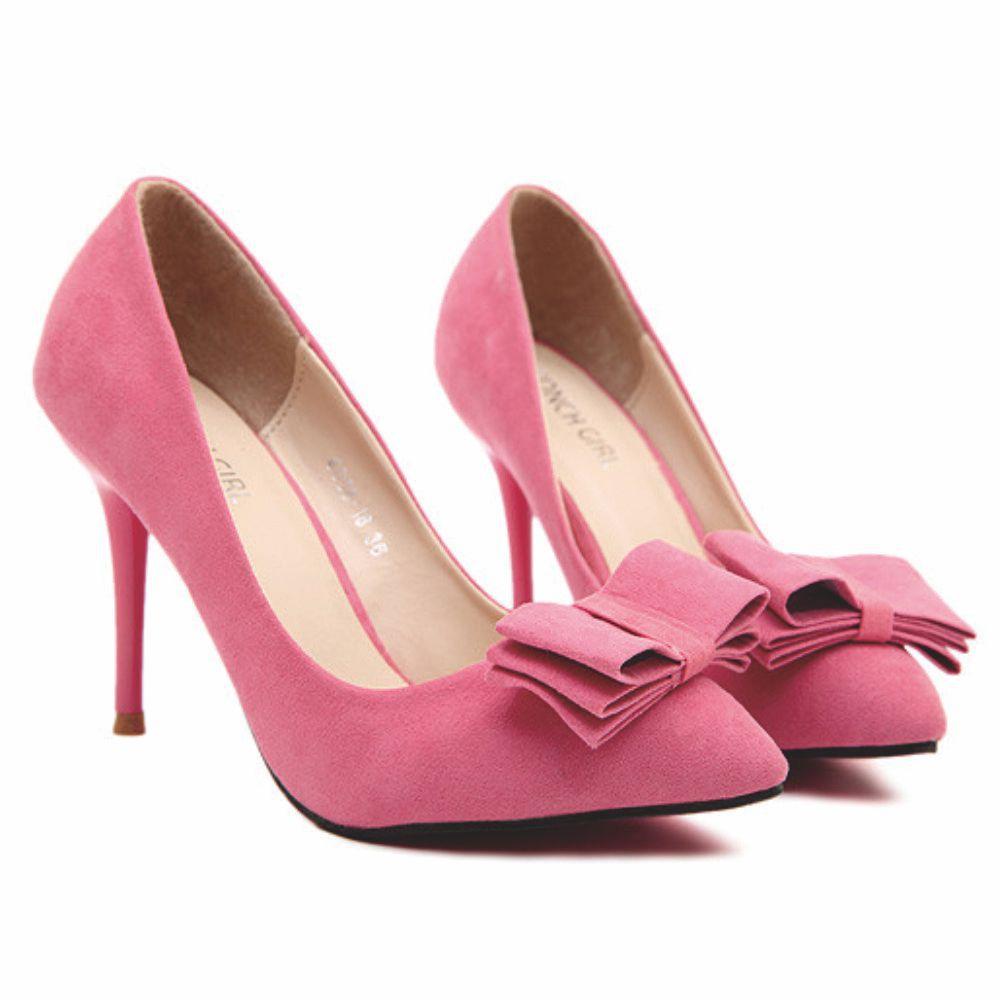 Purple Pink Ladies Shoes