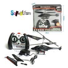 Discounted SenXiang toys S002# 3.5CH Double-propellers Infrared RC Fighting Helicopter(Black). Free shipping.