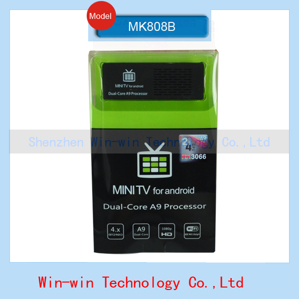 Original MK808 Bluetooth MK808B Mini PC RK3066 Dual Core Cortex-A9 1GB / 8GB Android 4.2.2 Google TV Dongle Stick MINI PC(China (Mainland))