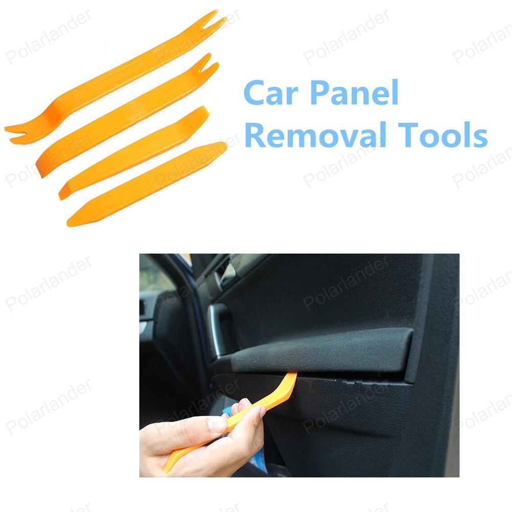 Оптовая продажа бесплатная доставка ремонт автомобилей комплект инструментов автомобиля средство для удаления панели 4 шт./компл.