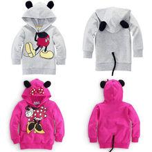 Hot Sale Baby Girls Boys Kid Cartoon Design Hoodies Sweatshirt Clothes