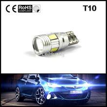 1PCS Free shipping Car Auto LED T10 194 W5W Canbus 6 smd 5630 cree LED Light Bulb No error car led light parking