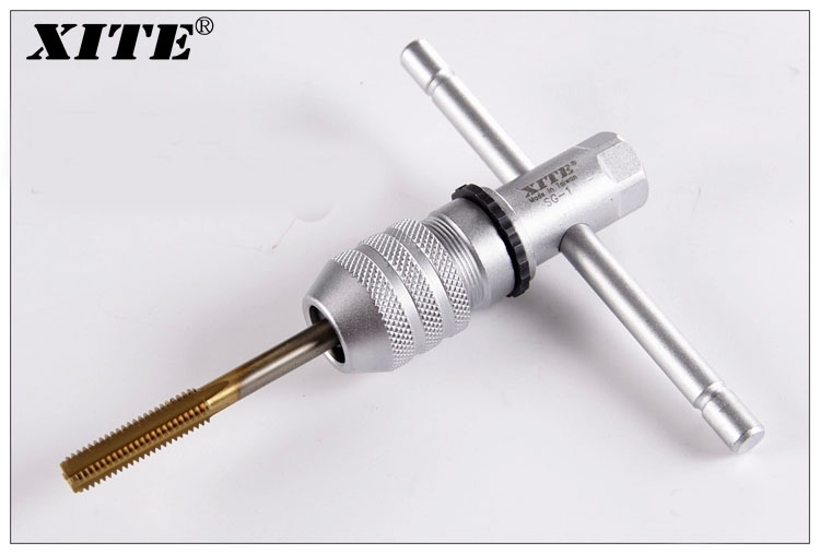 High Quality XITE SG-1 Tap Wrench Tool M3-M10 Adjustable T Handle Ratchet Wrench