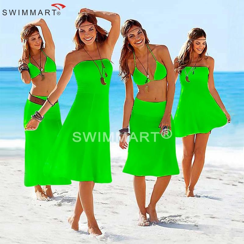 SWIMMART Designer Matches Bikini Multi wears Hot 2015 Convertible Cover ups Beach dress S.M.L.XL(China (Mainland))