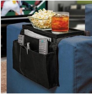 Sofa Pouch Multilayer Pouch Wholesale Vacuum Bag Storage Organizer Sofa Side Pouch Hang Bag Foldable Waterproof Oxford Cloth(China (Mainland))