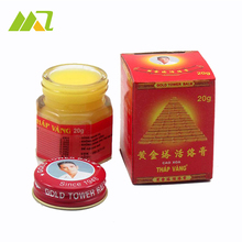 Vietnam Gold Tower Balm Active Cream 20g Relieving Itching and Muscle Joints Rheumatism Pain-Killer Detumescence(China (Mainland))