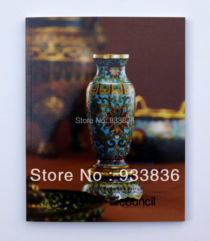 Catalog  Enamel and antiques COUNCIL auction 12/4/2013 Chinese art book<br><br>Aliexpress