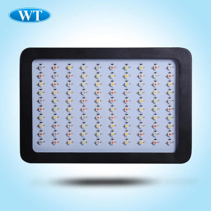 led grow light 300w full spectrum indoor grow tent bridgelux 3w led hydroponic equipment Grow Lamps for Plants Red chip DHL Free(China (Mainland))