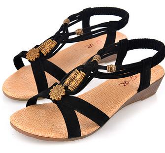 2015 Summer Fashion White Shoes Flat Heel Flip Gladiator Brief Herringbone Flip-flop Sandals Flat Women's Shoes 591(China (Mainland))