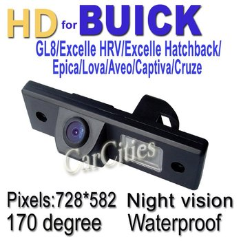 CCD170 degree parking for Buick GL8/Excelle HRV/Excelle Hatchback/Epica/Captiva/Cruze Waterproof Night version Size:99*29*47.3mm