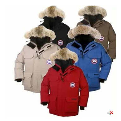 @ Free shipping (EMS) Canada down jacket authentic male thermal wear short thickening down Coat(China (Mainland))