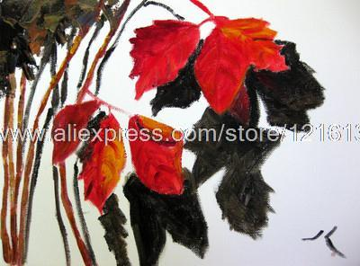 Leaves Painting Oil Painting Autumn Leaves