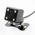 Auto Parking Assistance HD Night Vision Car Rear View Camera With 4 LED Lights Car Rear