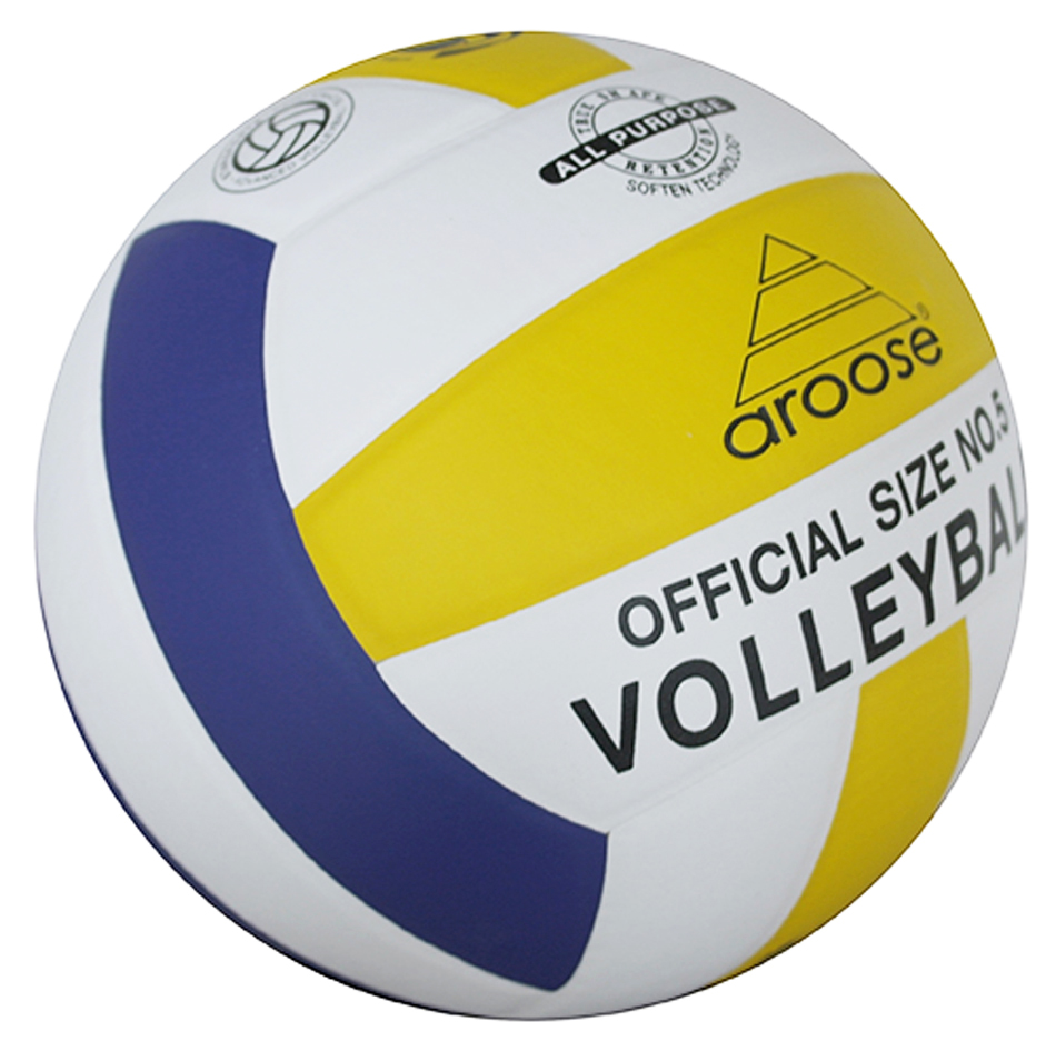 Official Soft Touch PU Volleyball Ball Size5 High Quality Volleyball Indoor Competition Beach Training Balls Voleibol Handball(China (Mainland))