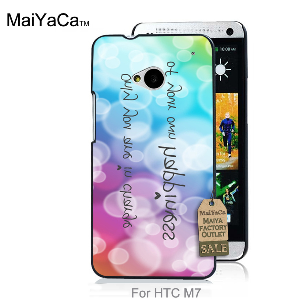 Pattern Rubber PC Soft Phone Accessories Cove For HTC One M7 case Colorful bubble ball(China (Mainland))