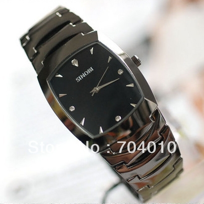 SINOBI 9185 sport men watches men brand Men s Crystal Dial Bracelet Quartz Watch