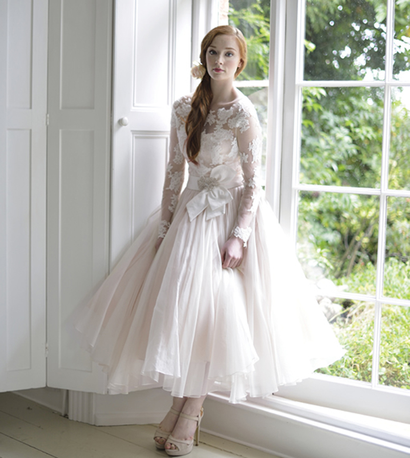 2016 a line style princess short country dress wedding for Elegant long sleeve wedding dresses