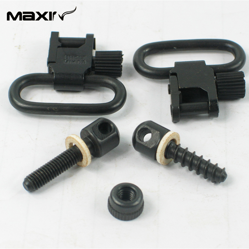 Uncle Mike s Quick Detach Sling Swivels Studs 1001 2 of Hunting Accessories Sets Quick Detachable