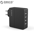 Orico 5V2 4A 4 USB Travel Wall Charger Adapter Smart Phone Charger 30W 6A Total Output