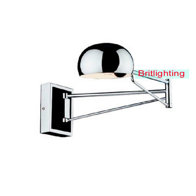 wall mounted bedside reading lights art light swing arm lamps modern sconce indoor makeup mirror lamp bathroom - britlighting factory---Online Store 410660 store