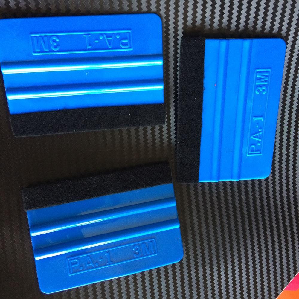 3m blue car wrap tool squeegee vinyl for car wrap scraper (3)