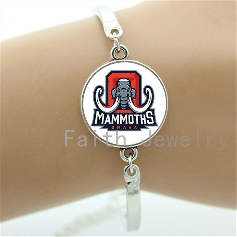 2016 Perfect Father's Day gifts case for Alabama team Newest mix 32 NFL team bracelet fashion men jewelry for ball fans NF075(China (Mainland))