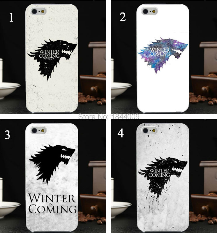new games of Wolf head Style Hard Skin Transparent Cover Case for iphone 5 5s 4 4S 5c(China (Mainland))