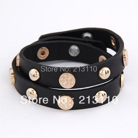 2015 Newest Fashion Charming Black chain Bracelet Jewelry For Women High quality(China (Mainland))