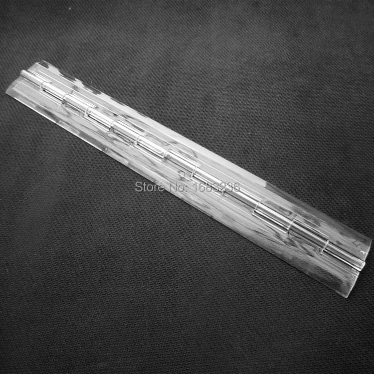 2x Clear Transparent Acrylic Plastic Hinge Box Piano Plexiglass hinge 300x45mm(China (Mainland))