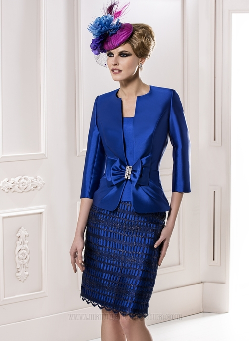 Blue Dress Suit Womens Tulips Clothing