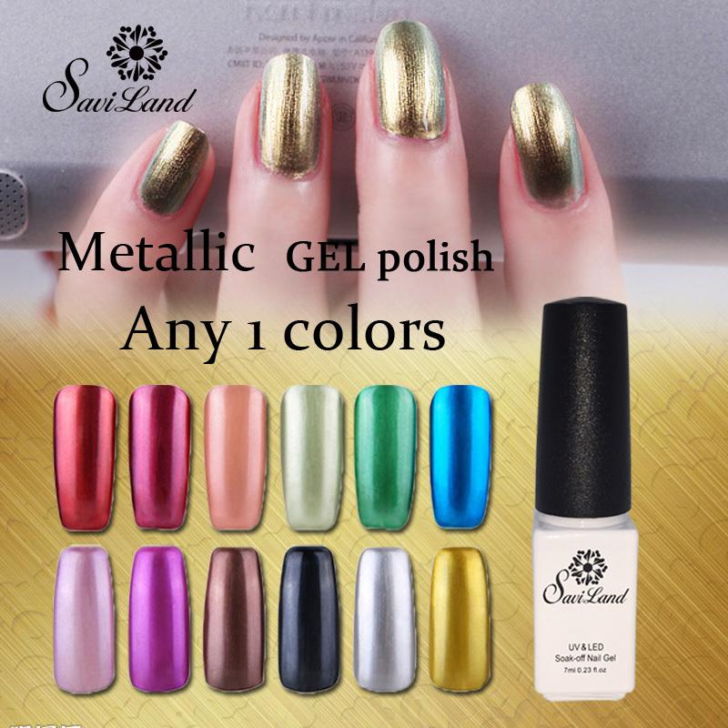 Gold Gel Nail Polish