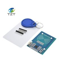 Buy 10pcs/lot MFRC-522 RC522 RFID RF IC card sensor module send Fudan card,Rf module keychain arduino for $17.19 in AliExpress store