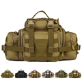 Multi purpose large Waist packs Nylon Camo MOLLE Outdoor Tactical Shoulder bag Climbing Travel Camping Hunting