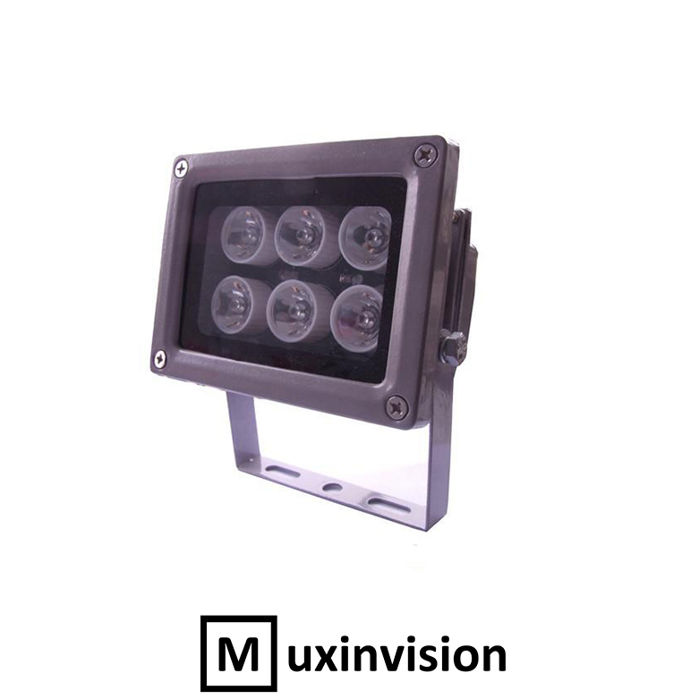 6 Array LED 4.8W 30-60 meter Night Vision IR Infrared Illuminator For CCTV(China (Mainland))