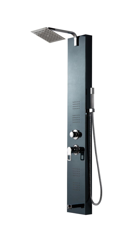 achetez en gros noir douche en ligne des grossistes noir douche chinois. Black Bedroom Furniture Sets. Home Design Ideas
