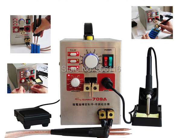 New Mobile Phone Notebook Battery Micro Pulse Spot Welder Welding Equipment Machine & Solding Machine Solder Two in One(China (Mainland))