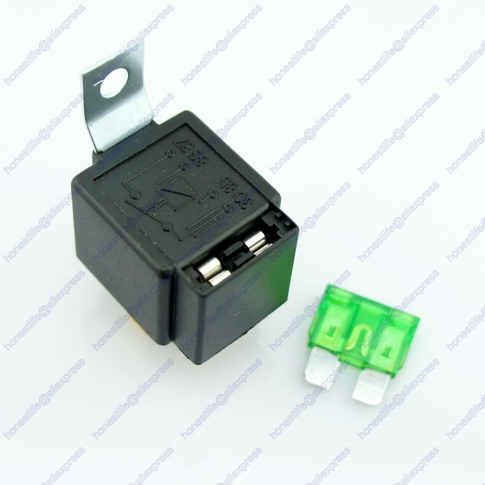 6 Info 4 Pin Relay For Fog Lights Pdf Doc With Fuse Car 12v 30a Light On