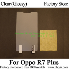 Clear Glossy Screen Protector Guard Cover protective Film For Oppo R7 Plus