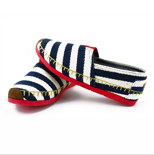 2015 Summer Autumn Ladies Canvas Shoes Women Flats Shoes Casual Striped Fashion Sneakers Sapato Feminino Women Loafers T0046(China (Mainland))