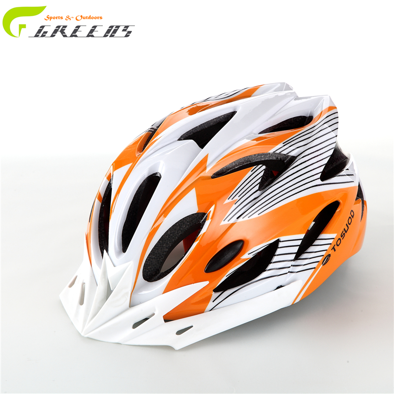2016 Hot new Bike Cycling Helmet EPS+PVC Ultralight Mountain road orange matte Bicycle Helmet 56-63cm 11 Colors casco ciclismo(China (Mainland))