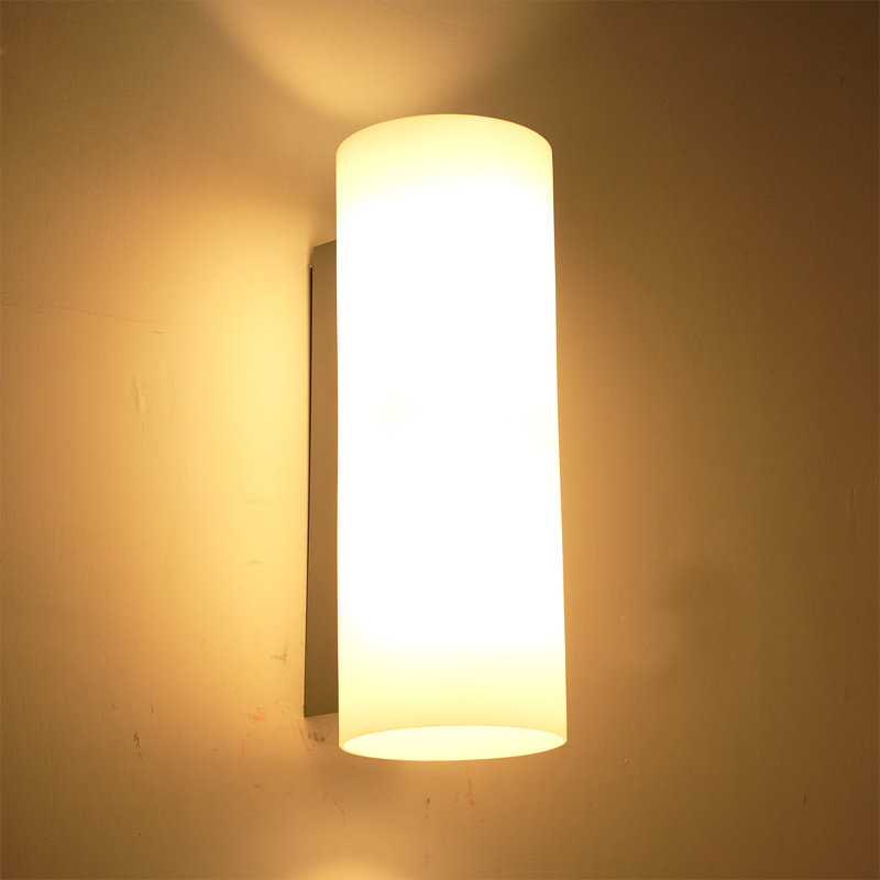 2015 modern brief wall sconce glass bed light reading e14 for Living room wall lights