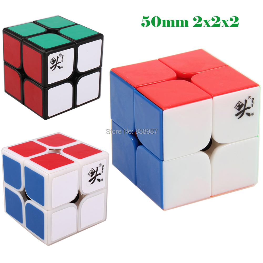 Professional High Speed Dayan Zhanchi 50mm 2x2 Speed Spring Cube Puzzle cube 2x2x2 magic cube Free Shipping(China (Mainland))