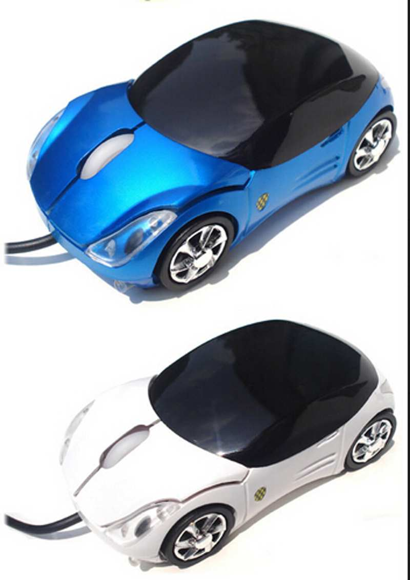 Hot Sale Mini Car Shape Mini Wired 3D Optical USB Mouse Computer Peripherals(China (Mainland))
