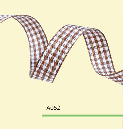 3 16 Inch 5mm font b tartan b font plaid ribbon