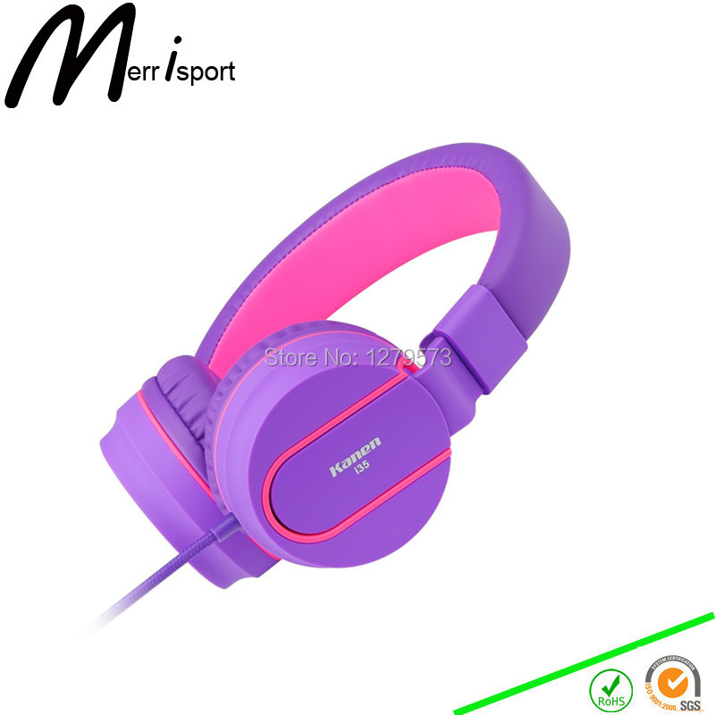 font b Headphones b font with Microphone font b Kids b font On ear Foldable