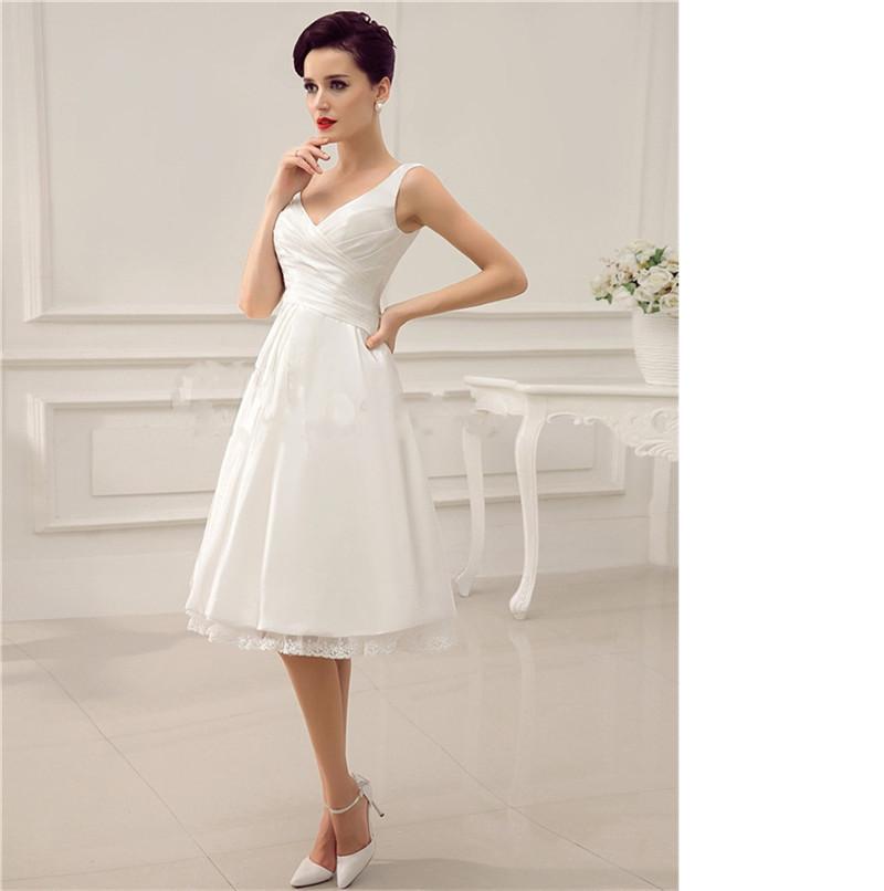 Ivory short wedding dresses kd dress for Ivory short wedding dress